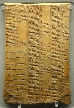 410px-Library_of_Ashurbanipal_synonym_list_tablet