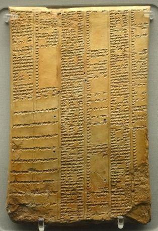 410px-Library_of_Ashurbanipal_synonym_list_tablet