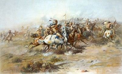 600px-Charles_Marion_Russell_-_The_Custer_Fight_(1903)