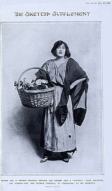 220px-Mrs._Patrick_Campbell_as_Eliza_Doolittle_1914