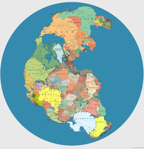 Evolution Man Pangea
